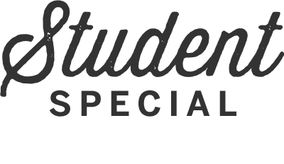 Student Special